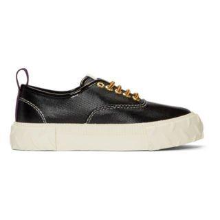 Eytys Black Viper Coated Sneakers