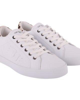 Trussardi Trussardi Eco-leather Sneakers (wit)