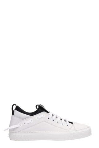 Bruno Bordese Bruno Bordese Triangular White Leather Sneakers (wit)
