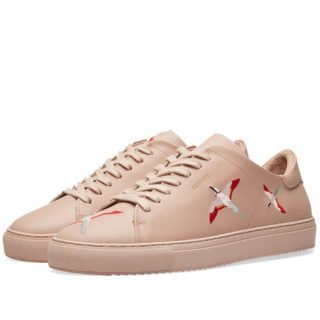 Axel Arigato Clean 90 Bird Embroidery Sneaker (Pink)
