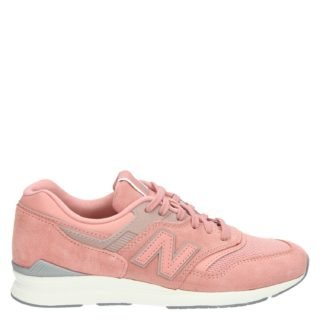 New Balance WL697 lage sneakers roze