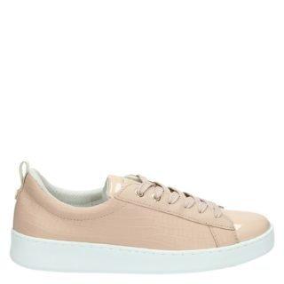 Cruyff Sylva Croco lage sneakers roze