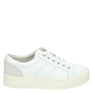 Nelson lage sneakers wit