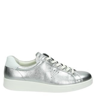 Ecco Soft 4 lage sneakers zilver