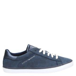 Esprit lage sneakers blauw