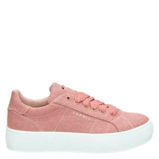 Esprit platform sneakers roze