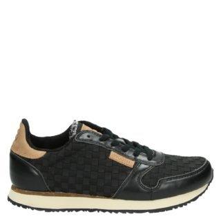 Woden WL008 Ydun lage sneakers zwart