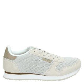 Woden Ydun lage sneakers grijs