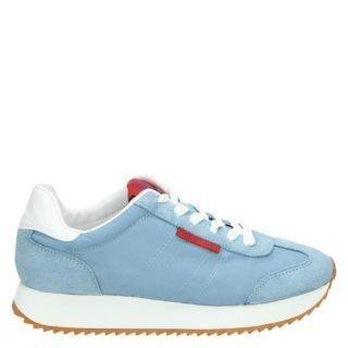 Calvin Klein Colette lage sneakers blauw