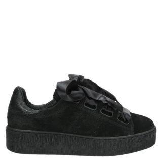 Nelson lage sneakers zwart