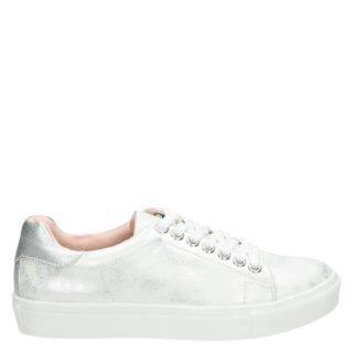 Hobb's lage sneakers zilver