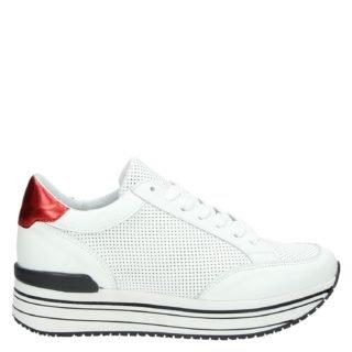 Nelson platform sneakers wit