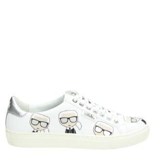 Karl Lagerfeld Multi lage sneakers wit