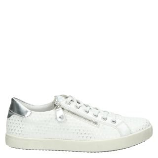 Remonte lage sneakers wit