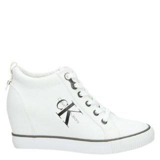 Calvin Klein Ritzy hoge sneakers wit