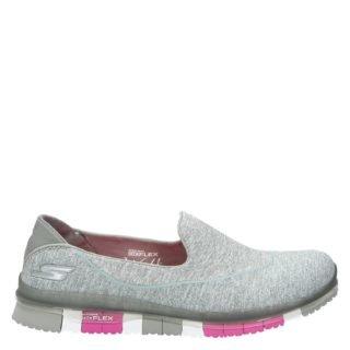 Skechers Go flex walk lage sneakers grijs