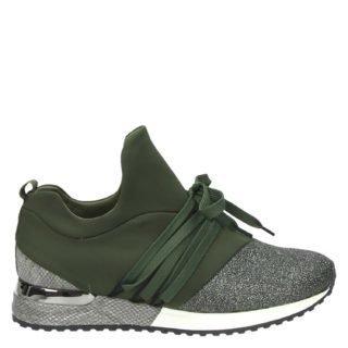 La Strada lage sneakers groen