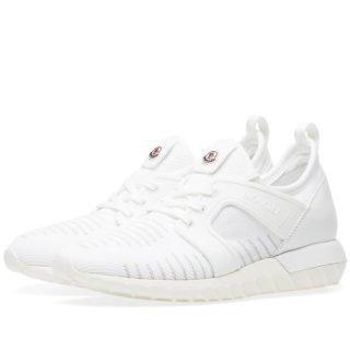 Moncler Emilien Knitted Sneaker (White)