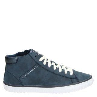 Esprit Rita Bootie hoge sneakers blauw