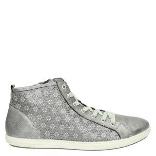 Remonte hoge sneakers zilver