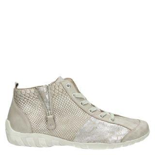 Remonte hoge sneakers beige