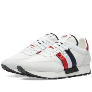 Moncler Horace Tricolour Hiking Runner (White)