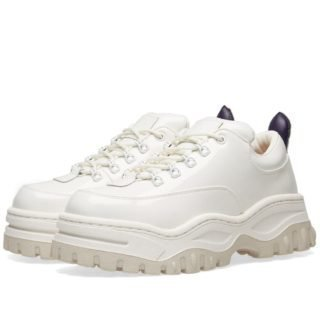 Eytys Angel Patent Sneaker (White)