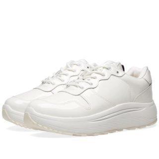 Eytys Jet Patent Sneaker (White)