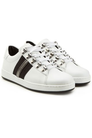 Balmain Leather Sneakers (wit)