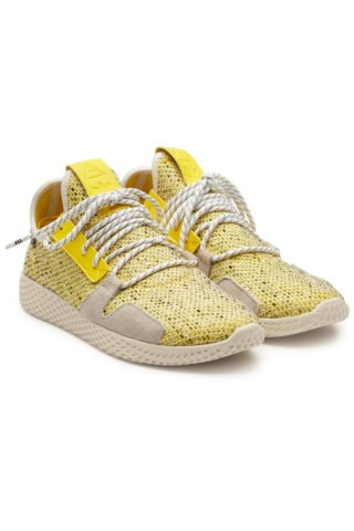 Adidas Originals by Pharrell Williams Tennis HU V2 Sneakers with Mesh#{lastAddedProduct.name} (multicolor)