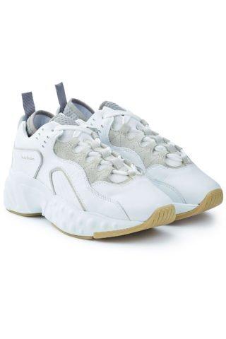 Acne Studios Rockaway Leather Sneakers (wit)