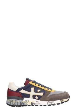Premiata Premiata Mick Multicolor Leather And Fabric Sneakers (multicolor)