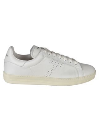 Tom Ford Tom Ford Crinkled Hole Sneakers (wit)