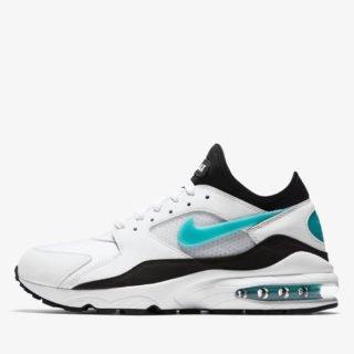 Nike Air Max 93 White/Sport Turquoise Black