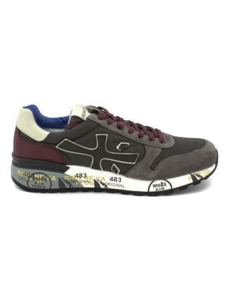 Premiata Mick Sneaker In Grey Suede Upper And Nylon. (Overige kleuren)