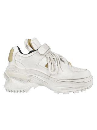 Maison Margiela Maison Margiela Touch Strap Sneakers (wit)