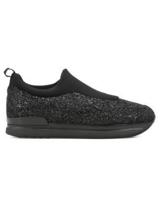 Hogan Hogan H222 Slip On Sneaker (zwart)