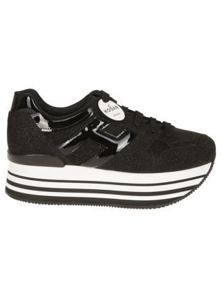 Hogan Hogan Maxi H222 Sneakers (zwart)