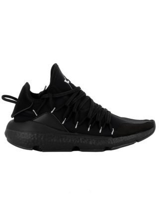 Y-3 Y-3 Black Fabric Sneakers (zwart)