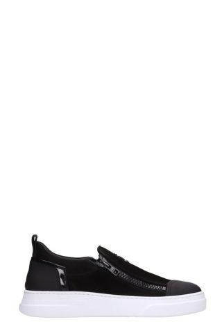 Bruno Bordese Bruno Bordese Byke Slip On Black Suede Sneakers (zwart)