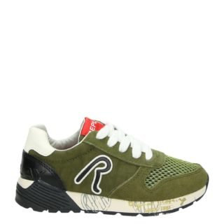 Replay JS180042S lage sneakers groen