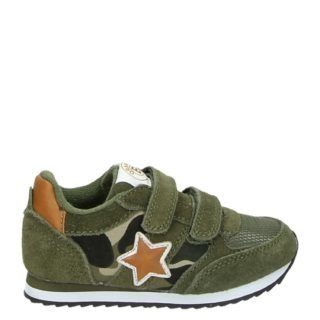 Orange Babies lage sneakers groen