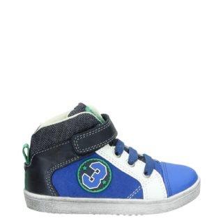 Orange Babies hoge sneakers blauw