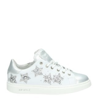 HIP lage sneakers wit
