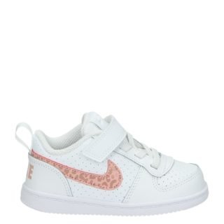 Nike Court Borough lage sneakers wit