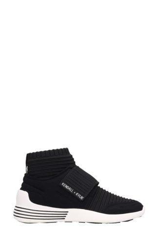 Kendall + Kylie Kendall + Kylie Brax Black Fabric Sneakers (zwart)