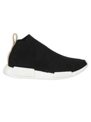 Adidas Adidas Nmd cs1 Primeknit Slip-on Sneakers (zwart)