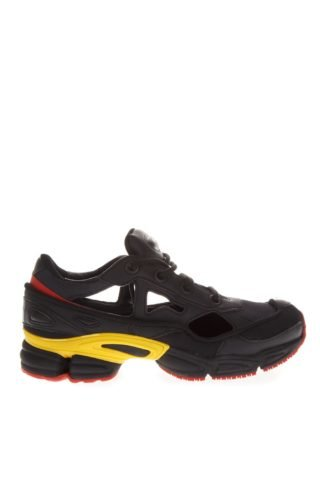 Adidas By Raf Simons Adidas By Raf Simons Black Replicant Ozweego Sneakers By Raf Simons (zwart)