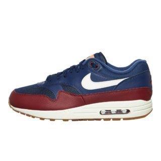 Nike Air Max 1 (blauw/rood)