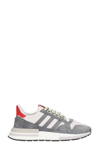 Adidas Adidas Zx 500 Rm Grey Suede And Fabric Sneakers (grijs)